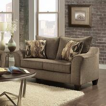 See Details - Camero Cafe Fabric Pillowback Loveseat