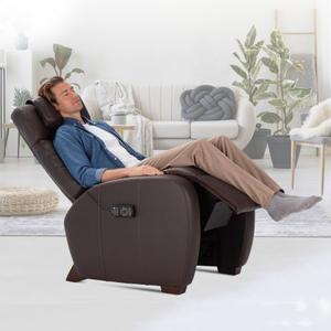 Human Touch - Lito Zero Gravity Recliner by Relax The Back ® - Brown