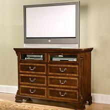 Six Drawer Entertainment Center