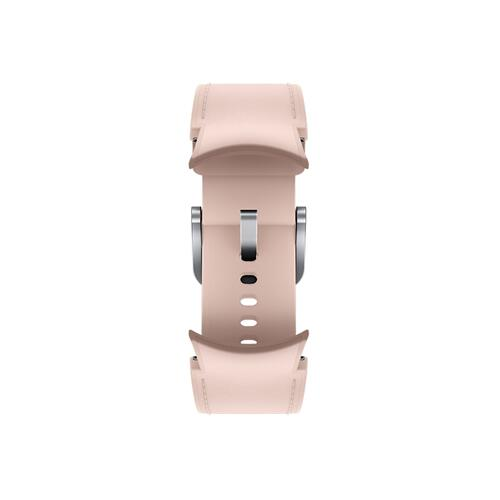 Samsung - Galaxy Watch4, Galaxy Watch4 Classic Hybrid Leather Band, S/M, Pink