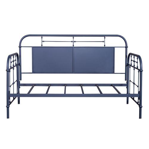 Gallery - Twin Metal Day Bed - Navy
