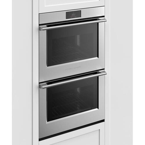"Double Oven, 30"", 8.2 cu ft, 17 Function, Self-cleaning"