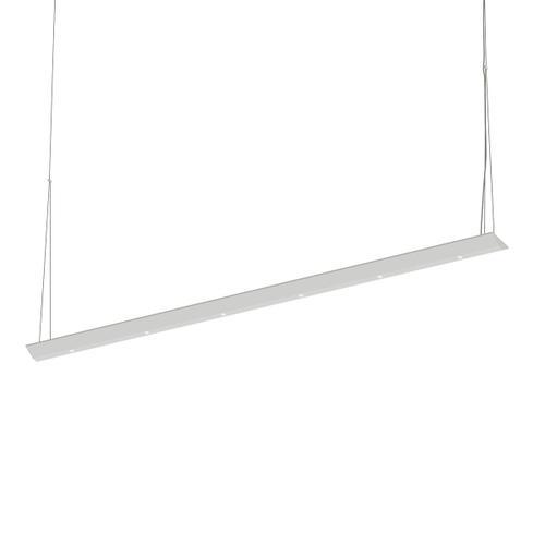 "Sonneman - A Way of Light - Votives LED Bar Pendant [Size=4', Color/Finish=Satin White, Shade Size=.25"" height x 2.25"" diameter]"