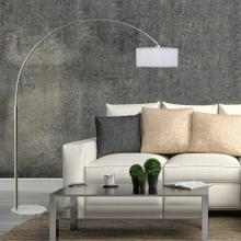 6938 WHITE Arc Floor Lamp