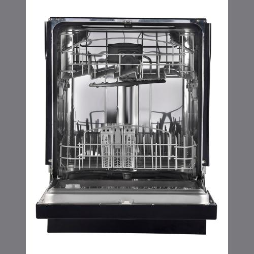 GE Built-In Stainless Steel Tall Tub Dishwasher Black GDF410SGFBB