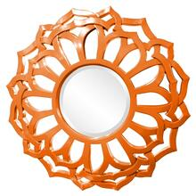 Casey Mirror - Glossy Orange