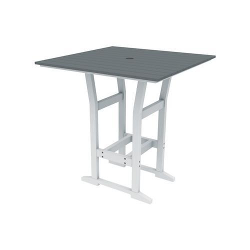 "Coastline Café 40"" Square Bar Table (330)"