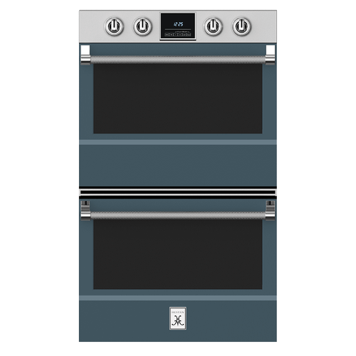 """Hestan - 30"""" Double Wall Oven - KDO Series - Pacific-fog"""