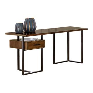 See Details - Return Desk with One Cabinet, Reversible