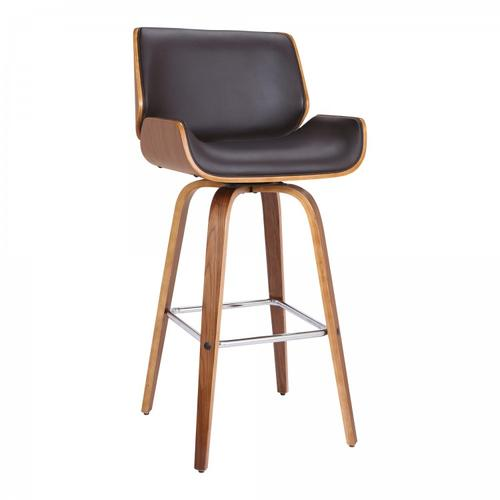 "Armen Living Tyler 30"" Swivel Bar Height Barstool"