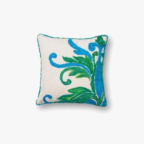 P0232 Green / Blue Pillow