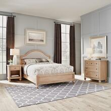 5170-5021 Cambridge White Queen Bed, Nightstand and Chest