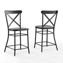 CAMILLE 2PC COUNTER STOOL SET