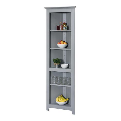 See Details - Pine Open Corner Cabinet