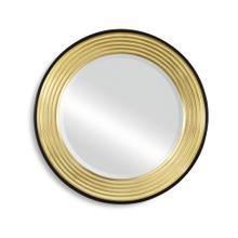 See Details - Contemporary Circular Recessed Mirror