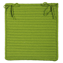 "Simply Home Chair Pad H271 Bright Green 15"" X 15"" (Set 4)"