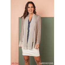 Go With The Flow Layered Cardigan - XS (3 pc. ppk.)