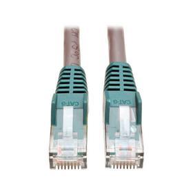 Cat6 Gigabit Crossover Molded UTP Ethernet Cable (RJ45 M/M), Gray, 7 ft.