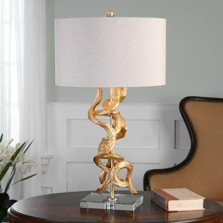 See Details - Twisted Vines Table Lamp