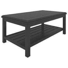 Castle Island Rectangular Cocktail Table Dark Brown