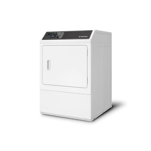Speed Queen - DF7 White Electric Dryer with Front Control  5-Year Warranty