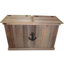 Product Image - Trash Can - Double - Sea Anchor - Black