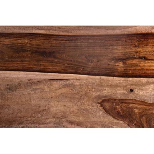 Porter International Designs - Tahoe Harvest 12 Glass Bedside Cabinet, PDU-1085HRU