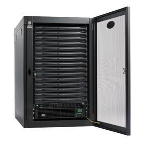 EdgeReady Micro Data Center - 15U, Heavy-Duty, Wall-Mount, 3 kVA UPS, Network Management and PDU, 230V Kit