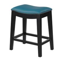 "Briar 24"" Bar Stool Teal Blue"
