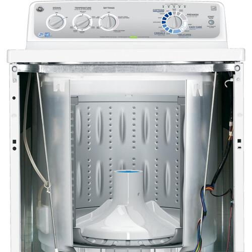 GE® 3.6 DOE cu. ft. stainless steel capacity washer