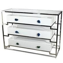 View Product - Stainless Steel Cabinet With 3 Drawers