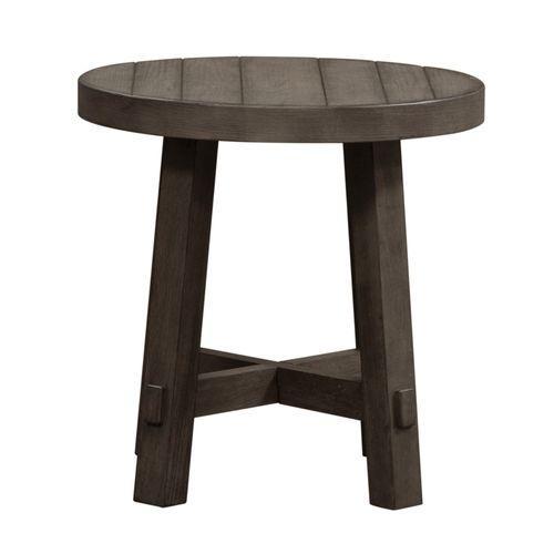Splay Leg Round End Table