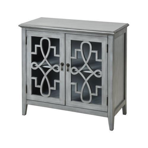 St. Raphael 2-door Cabinet In Grey