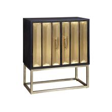 Brass Door Cabinet