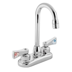 M-DURA chrome two-handle pantry faucet Product Image