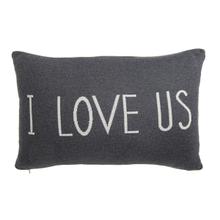 """I Love Us"" Lumbar Pillow"
