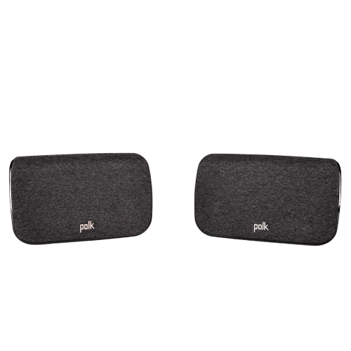 Wireless Surround Speakers for Select Polk Sound Bars in Black