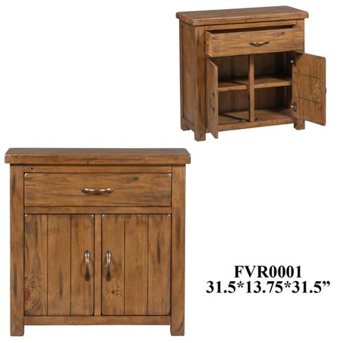 13.8X27.6X27.6 Cabinet With 2 doors 1 drawer, 1pk, 8.47'