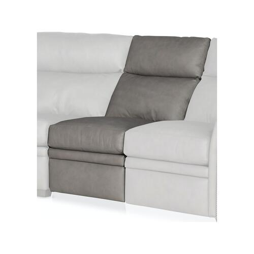 Bradington Young Sectionals 201 Raymond Reclining Sectional with Two-Piece Back