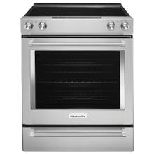 FLOOR MODEL CLEARANCE ITEM  30-Inch 5-Element Electric Slide-In Convection Range - Stainless Steel
