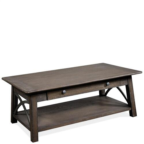 Helmsley - Coffee Table - Brushed Auburn Finish