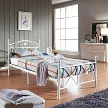 View Product - Cottage Twin Bed in White