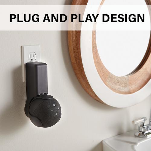 Sanus - Black Amazon Echo Dot (4th Gen) Outlet Hanger