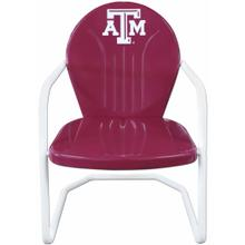 View Product - Texas A&M Retro Metal Chair