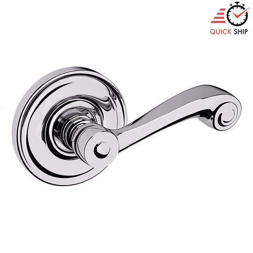 Baldwin - Polished Chrome 5103 Estate Lever with 5048 Rose