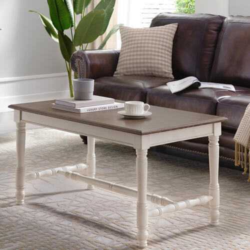 Gallery - Toscana Two-tone Condo/Apartment Coffee Table #11703