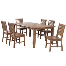 Product Image - Extendable Table Dining Set - Amish (7 Pieces)