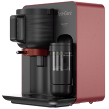 Tea-Ceré tea maker; Red Colour; Prepares authentic Matcha tea in four easy steps