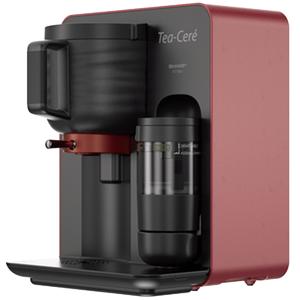 Sharp Canada - Tea-Ceré tea maker; Red Colour; Prepares authentic Matcha tea in four easy steps
