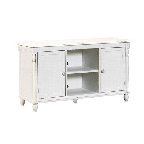 Plasma Stand, Available in Shabby White Finish Only.
